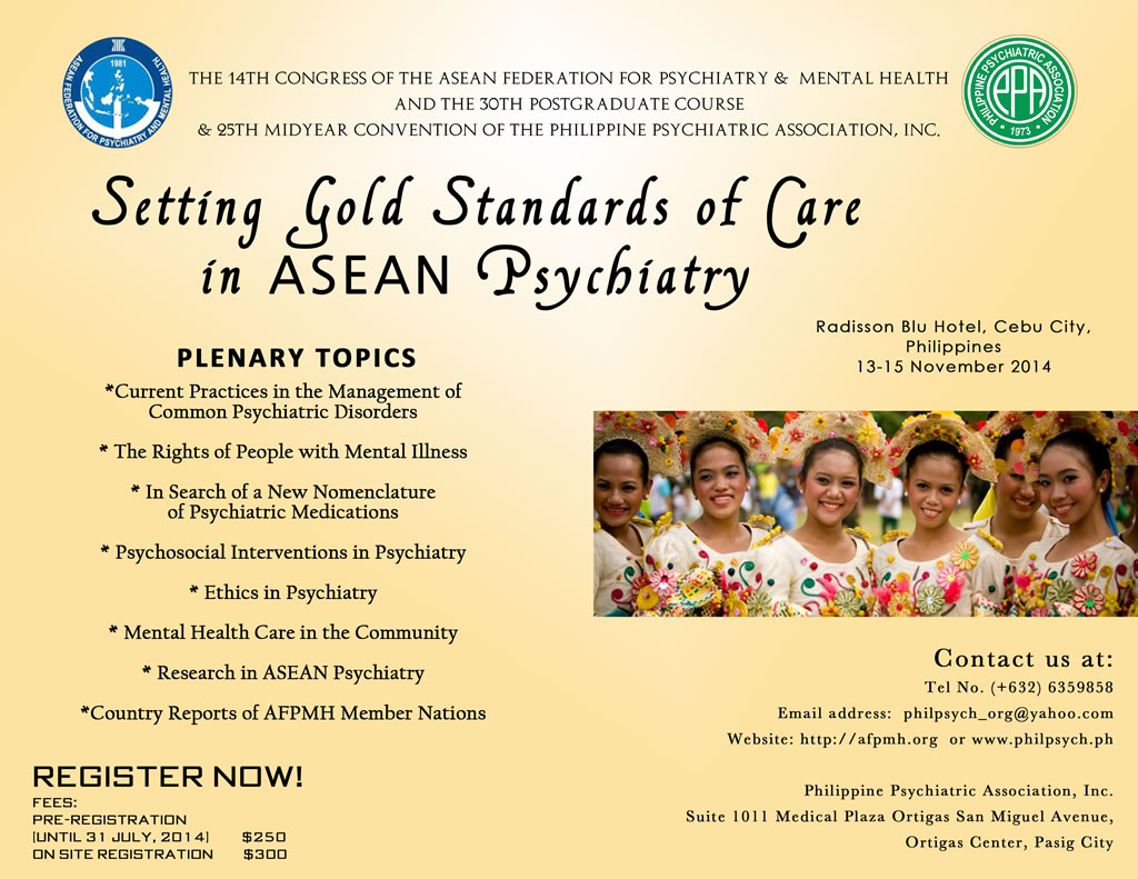 Singapore psychiatric association 14th congress of the for 14th and grand salon