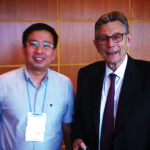Photo With Professor Norman Satorius