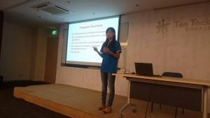 SYPT talk during NHG Career fair 2015
