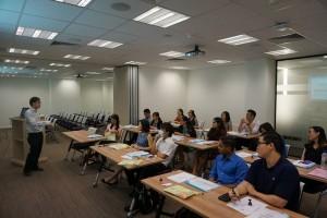 SYPT talk during Residency Intake Orientation 2015