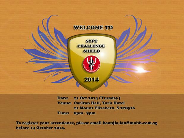 SYPT Challenge Shield 2014