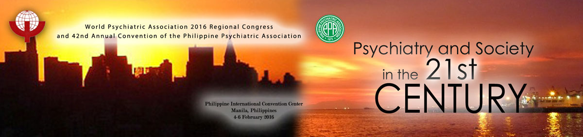 WPA 2016 Regional Congress and 42nd Annual Convention of the Phillipines Psychiatric Association