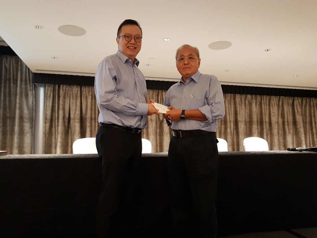 Singapore Psychiatric Association 38th AGM held on 27 Apr 2018